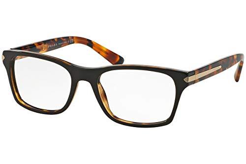 Prada PR16SV Eyeglass Frames UBS1O1-52 - Top Brown/Havana PR16SV-UBS1O1-52 ()