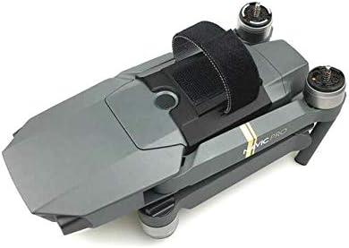 HUANRUOBAIHUO Drone perseguidor de TK102 GPS localizador de Seguimiento del Soporte del sostenedor for dji Mavic Pro cuadricóptero Accesorios (Color : Black)