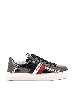 MONCLER Luxury Fashion Womens 205861001ALH927 Silver Sneakers | Fall Winter 19