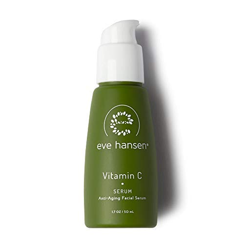 Eve Hansen Dermatologist Tested Vitamin C Serum For Face - Premium Hypoallergenic Anti-Aging Serum, Dark Spot Corrector and Hyperpigmentation Treatment Facial Serum - 1.7 oz