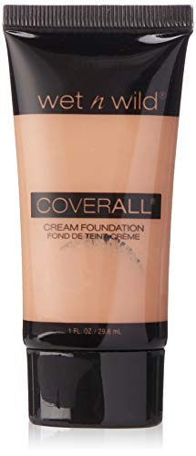 Wet n Wild CoverAll Creme Foundation - Light/Medium (N Wild Wet Coverall)