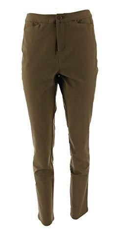 Liz Claiborne NY Bi-Stretch Ankle Pants Pinelands 16 New A267335