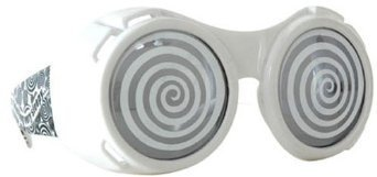 Mad Scientist Glasses (Elope Hypno Goggles (White))
