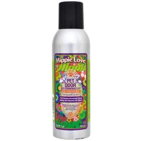 Pet Odor Exterminator Hippie Love Spray (7 oz)