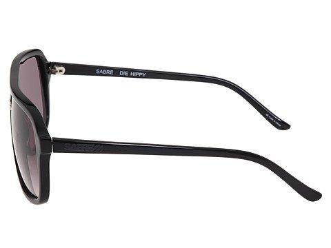 SABRE Die Hippy Unisex Sunglasses Black Gloss - Sunglasses Cr-39