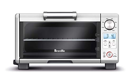 Breville BOV450XL Mini Smart Oven, Countertop Toaster Oven, Brushed Stainless Steel
