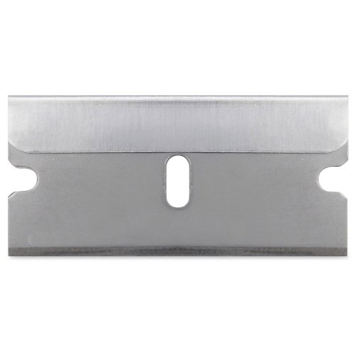 Sparco 01485 Single Edge Replacement Blades, 5/PK, Silver