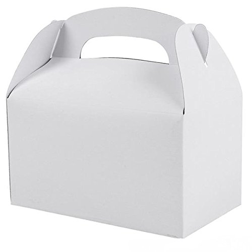 White Party Treat Boxes (Pack of 12)