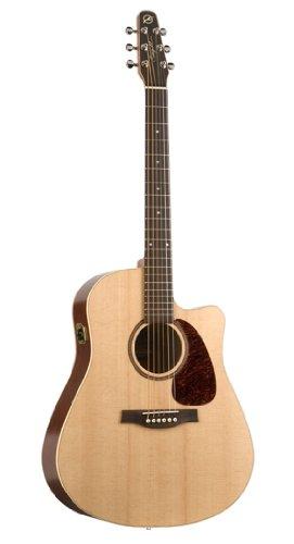 Seagull Coastline S6 Slim CW Spruce QI - Guitar Gull Cutaway Sea