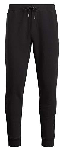 Polo Ralph Lauren Men's Double Knit Jogger Sweatpants, Polo Black, Large (Ralph Lauren Fleece Mens)