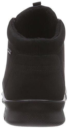avec Bottines Black Schwarz Boot Femme Babett Noir intérieure Doublure Black Chukka Chaude Ecco ZPnIg6T