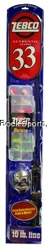 Zebco 33 Fishing Combo with Tackle Box and Tackle, Outdoor Stuffs