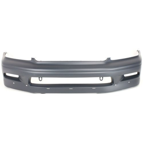 Front Bumper Cover for MITSUBISHI LANCER 2002-2003 Primed Paint to Match with Hole OZ Rally Model