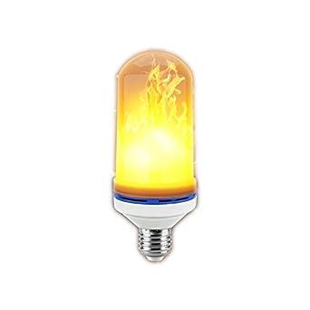 Bombilla LED Efecto llama E70 Estándar europeo Bajo consumo Vida útil Larga vida útil Funcionamiento perfecto Simulación Llama parpadeante Ambiente ...