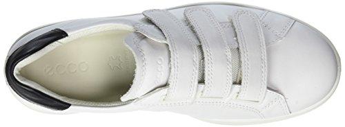 Ecco Ladies Soft 4 Sneaker, Nero Bianco (50524white / Nero / Bianco)