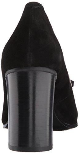 Aerosoles Donna Vestito Di Squame Quadrate Nero In Pelle Scamosciata