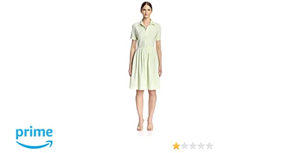 4212ea5344d5b Melissa Masse Women s Seersucker Shirtdress at Amazon Women s Clothing  store