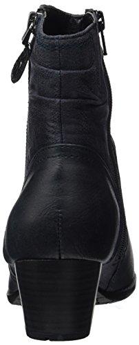 Softline Women's 25370 Boots, Black Blue (Navy)