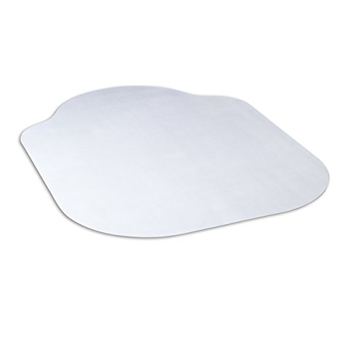 Evolve Modern Shape 33'' x 44'' Clear Office Chair Mat With Lip For Hard Floors, Made In The USA By Dimex, Phthalate Free (15B50630) by Evolve