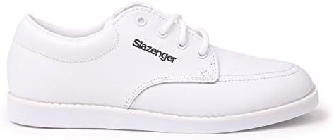 Slazenger Damen-Bowlingschuhe, Schnürschuhe, Knöchelschutz, Fußbekleidung