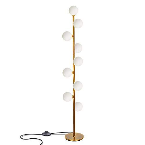 Hsyile Lighting KU300198 Cozy Elegant Modern Creative Floor Lamp for Living Room,Bedroom,Office,9 Lights -