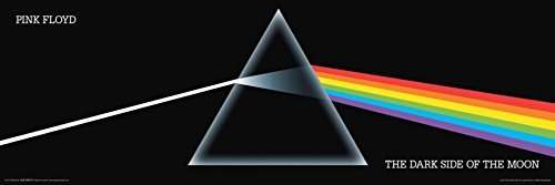 Buyartforless Pink Floyd - Dark Side Of The Moon Prism 36x12 Music Album Art Print Poster Wall Decor Classic