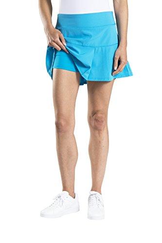 Etonic Women's Stretch Woven Tennis Skort, Atomic Blue, - Women Modesto