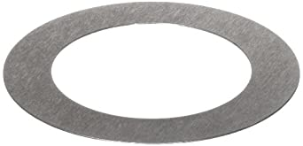 1008/1010 Steel Round Shim, Solid, Unpolished (Mill) Finish, Inch, ASTM A1008/ASTM A1011