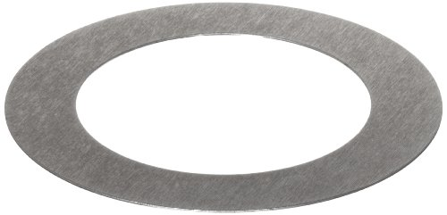 C1008/C1010 Steel Round Shim, Unpolished (Mill) Finish, #1-5 Temper, ASTM A1008/ASTM A1011, 0.125