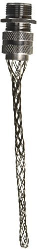 Hubbell 07401015 Deluxe Cord Grip, Straight Male, 3/4'' with Mesh, 0.37''-0.50'' Cable