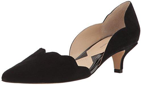 Vittadini Classic Womens Adrienne Pointed Black Toe Pumps serebe awdfHv8q