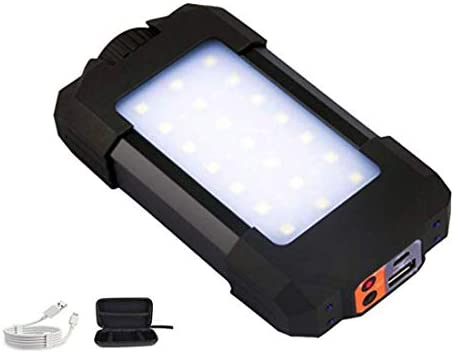 LE 15W Power Bank LED Work Light USB Rechargeable Camping Lantern Fishing Lamp