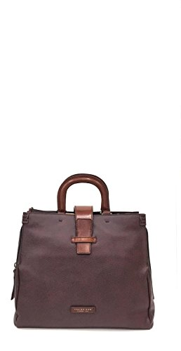 THE BRIDGE BORSA DONNA TOTE JAM SESSION 042957 MARRONE