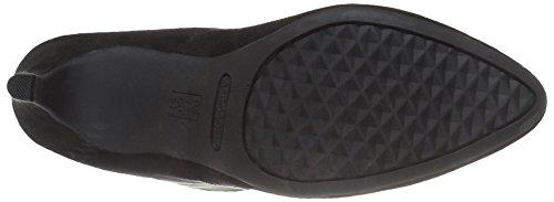 Excess Fabric Boot Aerosoles Black Women's g5IqgwvU0x
