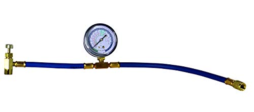 Enviro-Safe 3226 Can Tap with Gauge - R-134a can to R-12/R-22 port (Best Gauges To Have In Your Car)