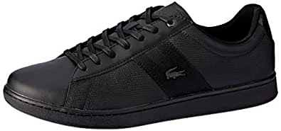 Lacoste Carnaby EVO 119 5 Fashion Shoes, BLK/BLK, 10 US