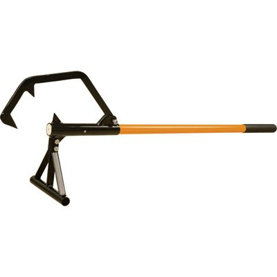 Roughneck Double Hook Steel Core A-Frame Timberjack - 60in.L