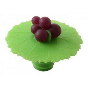 UPC 849606043666, Charles Viancin Grape Wine Bottle Stopper - Silicone - Grape