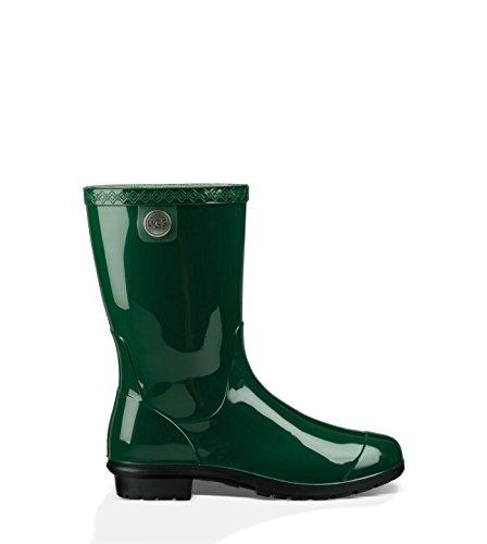 UGG Women's Sienna Rain Boot, Pine, 10 B US (Charms For Ugg Boots)