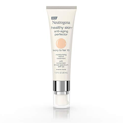 Neutrogena Healthy Skin Anti-Aging Perfector Spf 20, Retinol Treatment, 10 Ivory Fair, 1 Fl. Oz.