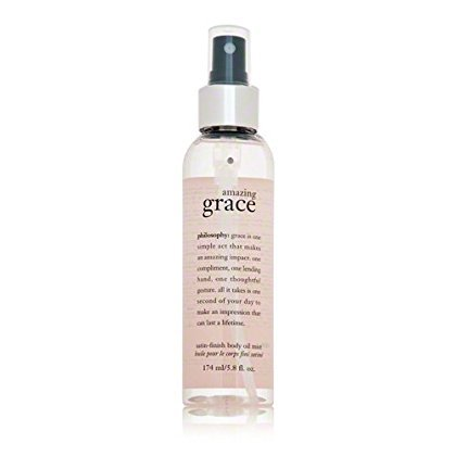 (Philosophy Amazing Grace Satin-Finish Body Oil Mist, 5.8 Ounce)