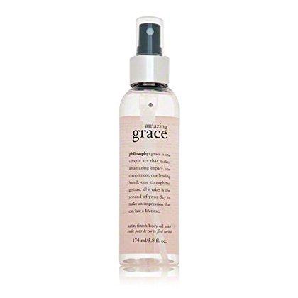 Philosophy Amazing Grace Satin-Finish Body Oil Mist, 5.8 - Dry Oil Body Spritzer