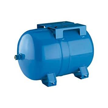 Flotec Horizontal Precharged Water System Tank - 6-Gallon Capacity,  Equivalent to a 15-Gallon Capacity Tank, Model# FP7100H