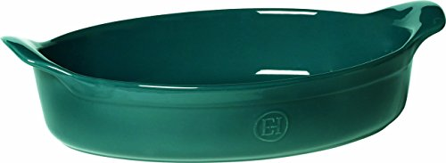 Emile Henry Oval Baking Dish, Blue Flame by Emile Henry