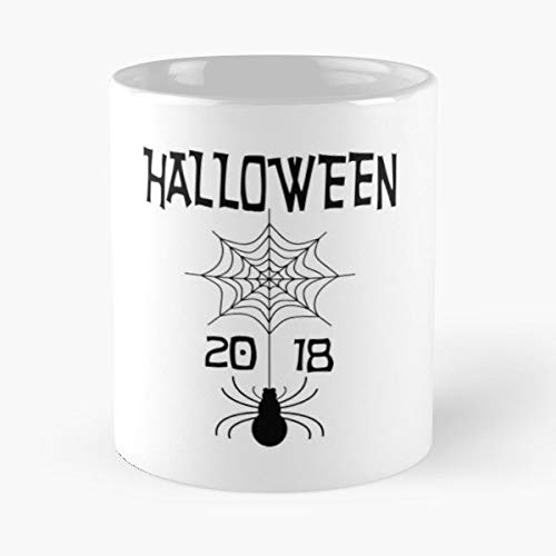 Halloween Trick Or Treat Sweet Treating - 11 Oz Coffee Mugs Unique Ceramic Novelty Cup, The Best Gift For Halloween.]()