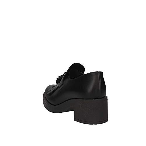 French Nero Italy Femme Noir Luni Shoes ORIBO Made In 8427 xaA1qO6w