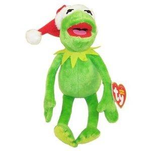 Amazon.com  Ty Beanie Baby - Disney Christmas Holiday (Kermit ... 6572434942c
