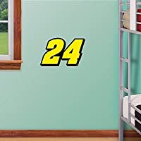 "NASCAR Jeff Gordon #24 Fathead Logo Set 12""X16"""