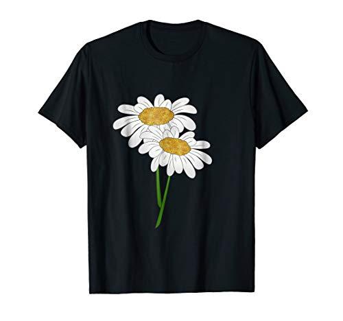 Cool Glitter Daisy Flower T Shirt Daisies Flowers Tee Shirt