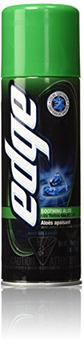 Soothing Aloe Shave Gel Men Shave Gel by Edge, 7 Ounce (Pack of 24)
